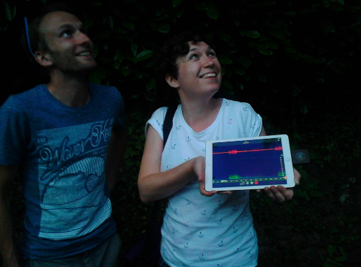 Echo Meter Touch facilitates the UK's First Deaf-Led bat walk