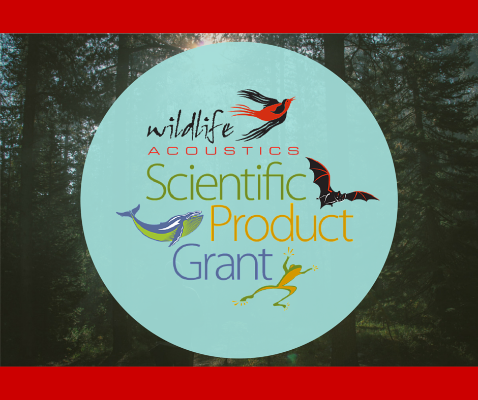 What to know about the Wildlife Acoustics Scientific Product Grant Program