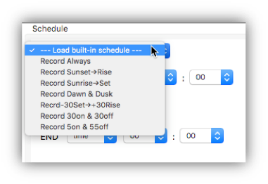 Creating Recording Schedules with Your Song Meter