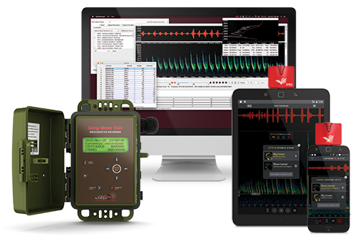 Product and software solutions from Wildlife Acoustics