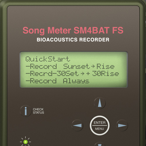 Wildlife Acoustics Song Meter SM4BAT